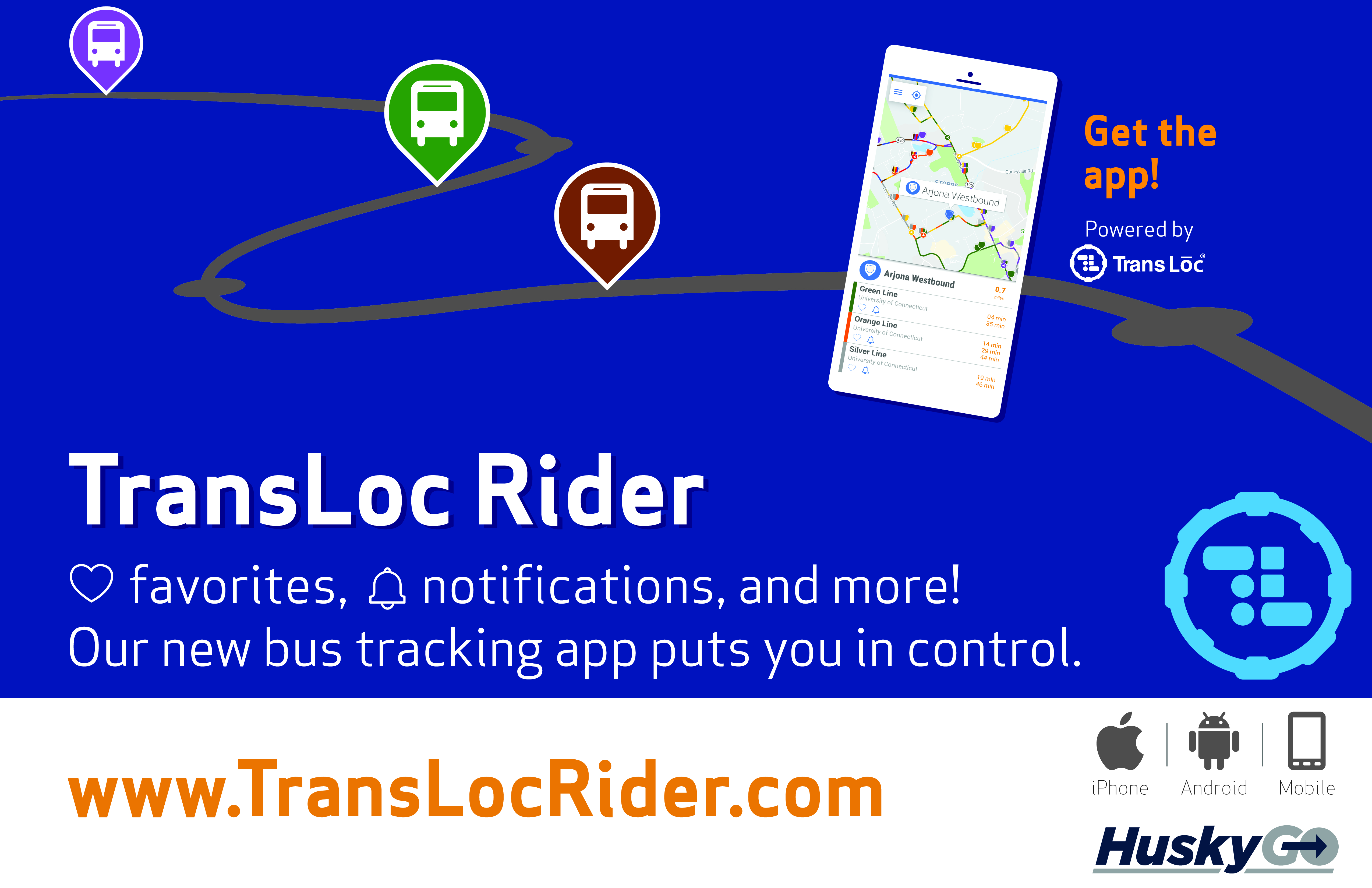 New GPS Bus Tracking App - Press Release - 2/26/2019